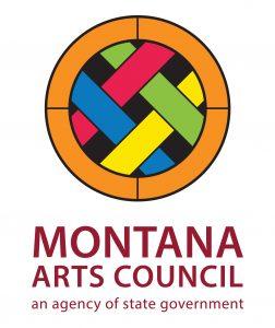 graphic logo for Montana Arts Council